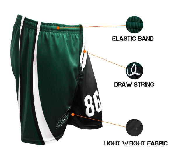 Custom Sublimated Shorts