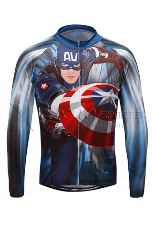 Men American Cycling Jersey