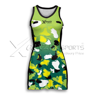 Peel Netball Dress Ladies